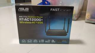 ASUS RT-AC1200G+ 802.11ac Wireless Router