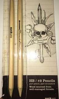 Drumstick pencil 鉛筆鼓棒
