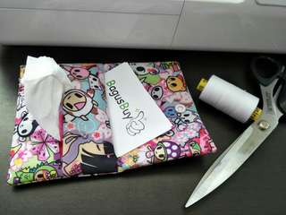 Waterproof Tissue and card holder