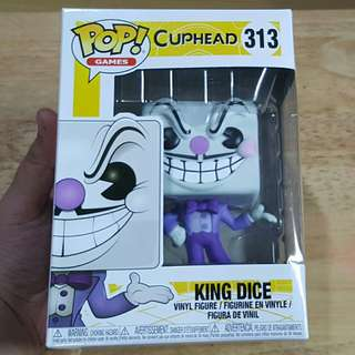 Cuphead King Dice Funko Pop