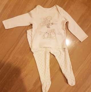 Original disney baby pyjamas george 9-12m