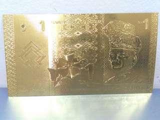 Ringgit Gold Foil