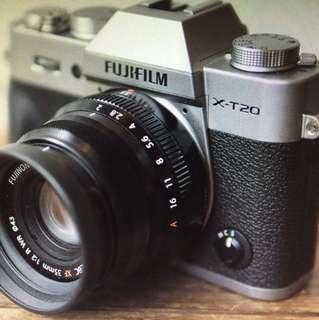 Fujifilm x-t20 100% new