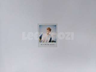 SEVENTEEN Woozi Love & Letter Big Pola Photocard