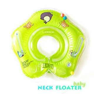 Baby Neck Floater - GREEN