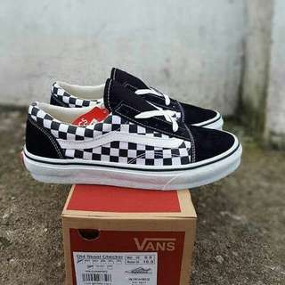 Vans os checkboard premium quality size 39-44