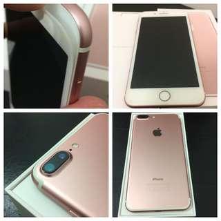 Apple iPhone 7plus Rosegold 128G