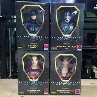 (RUSH!) Batman v Superman desk buddies by Petron