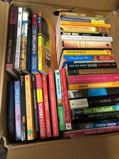 Moving out Sale- Books Books Books