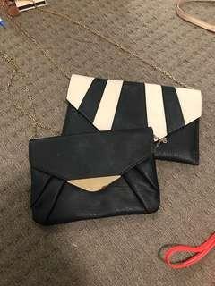 Colette clutch bags $10 each