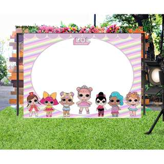 new 2018  #Customize Custom BANNER Personalised Personalized Backdrop Background lol surprise