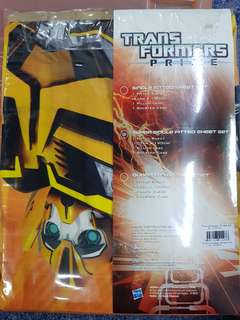 Super single bed sheets-transformers design