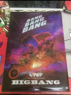 Big Bang X A Pink A4 File