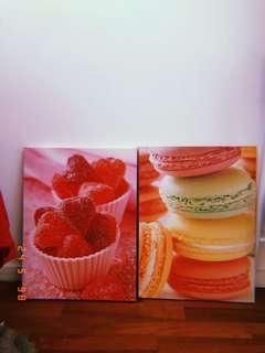 Sweets/Macaron Canvas