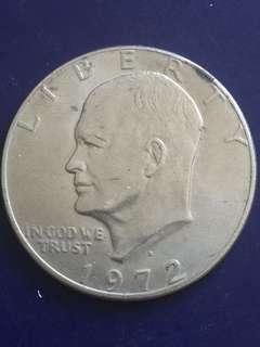 USA $1 , 1972, Vf