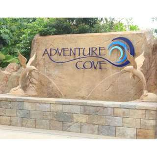 Adventure Cove Waterpark Singapore E-Ticket