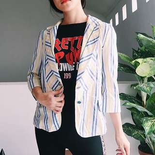 Stripes Blazer