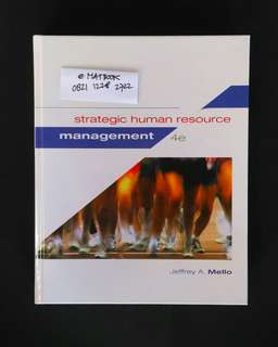 Strategic Human Resource Management 4ed