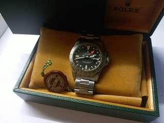 (Sold)勞力士ROLEX 1655 Explorer 2 橙針