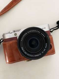 Fujifilm XA3 Mirrorless Camera