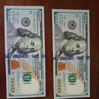 *UNC* 2009A Series Benjamin Franklin US 100 Dollar Bill
