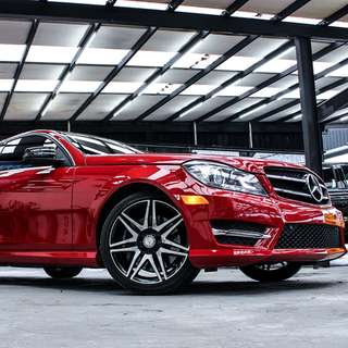 2013 BENZ C250 COUPE AMG PLUS
