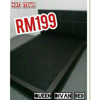 KATIL QUEEN DIVAN BED PALING LARIS