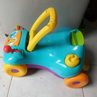 Playskool 2 in 1 ride on