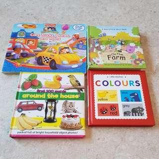 (PL) Toddler educational books