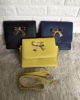 Lilbow Bag (Lime , Grey, Black)