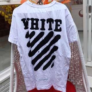 OFF WHITE DIAGONAL SPRAY