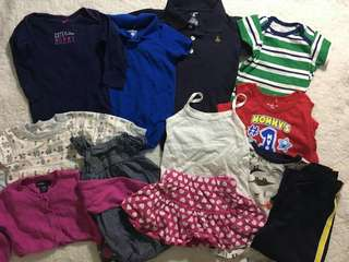 Pre-loved baby and kids clothes