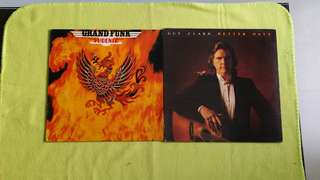 GRAND FUNK ● GUY CLARK . phoenix / better days . ( buy 1 get 1 free )  vinyl record