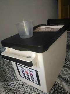 rice box rice container dispenser