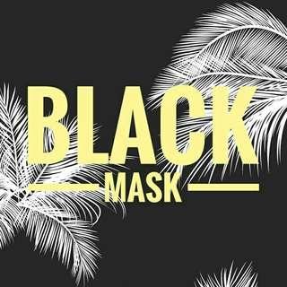 BLACK MASK (masker wajah homemade)