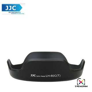 JJC LH-60C(T) Lens Hood for CANON EF 28-80mm 28-90mm EF-S 18-55mm f3.5-5.6 Lens (EW-60C)