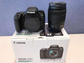 Canon EOS 77D DC KIT W/EF-S 18-135 IS USM