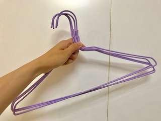 紫色衣架15個 #五十元好物