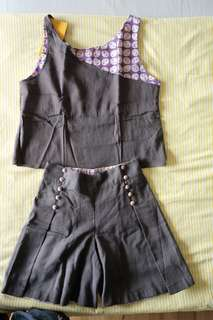 Baju Batik Anak Girl - Tanktop Sets