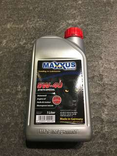 Maxxus 5W40 Synthetic Engine Oil (1litre)