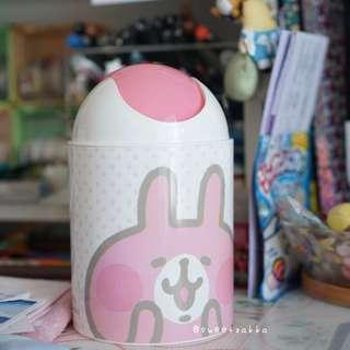 台灣限定 兔兔 垃圾筒 kanahei