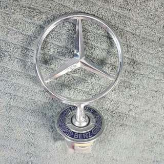 Mercedes car front iron logo