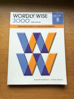 Wordly Wise 3000 Book 8