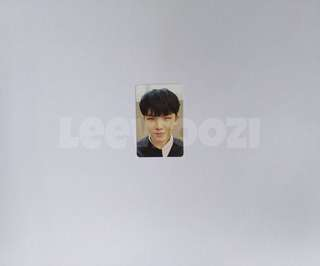 SEVENTEEN Woozi Director's Cut Photocard