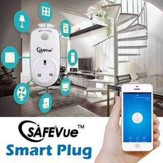 Safevue Wi-Fi control Plug with apps through Handphone
