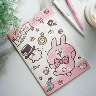 日本限定 kanahei 粉紅兔兔 筆記本筆記簿