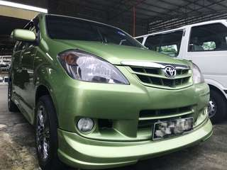 Toyota Avanza 1.3 manual