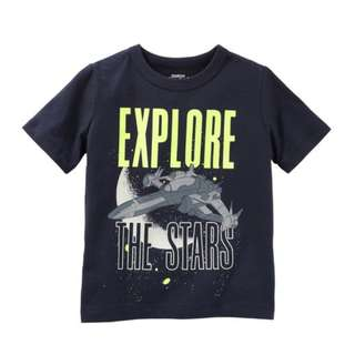 OshKosh Originals Glow-In-The-Dark Graphic Tee