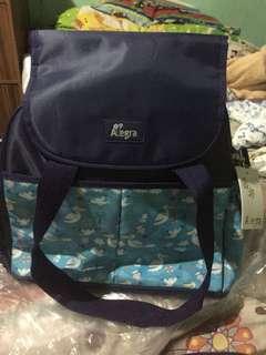 Allegra diaper+cooler bag