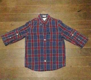 Authentic Abercrombie Plaid long sleeve